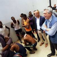 U.N. refugee chief urges Libya to free asylum seekers from 'harsh' holding facilities