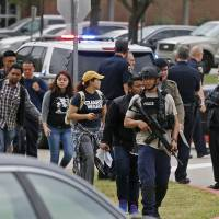 Apparent murder-suicide prompts panic at Texas college