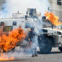 Maduro starts constitutional rewrite amid deadly clashes, threatened U.S. sanctions