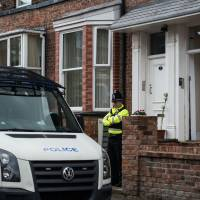Manchester police cordon off neighborhood amid bomb squad search