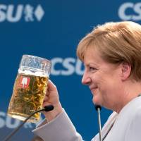 In allusion to Trump, Merkel says Europe must stay united in face of ally uncertainty