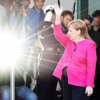 Forgiven for migrant crisis, Merkel in pole position for fourth term