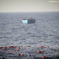 34 migrants found drowned off Libya, 1,800 rescued