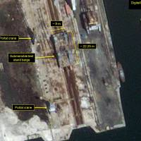 Satellite evidence points to North Korea's ramped-up sub-launched missile program: report