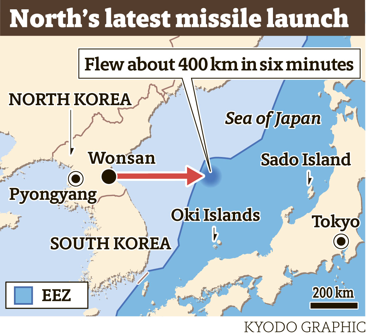 North Korea Latest News: North Korea Fires Apparent Scud-type Missile That Lands In