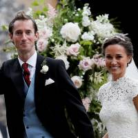 Pippa Middleton, sister of Kate, Duchess of Cambridge, marries with two likely future kings in attendance