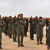 U.S.-led coalition trains police for Raqqa once Islamic State is driven out