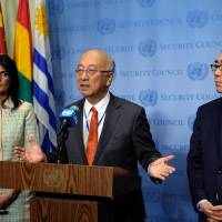 UNSC huddles over planned new sanctions against Pyongyang; Haley offers option of talks with U.S.