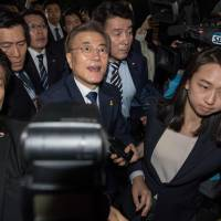 South Korean President-elect Moon's main policy pledges