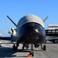 Unmanned U.S. Air Force space plane returns after secret, two-year mission