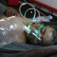 Syria in 'clear pattern' used suspected nerve agents in at least four attacks since December: HRW