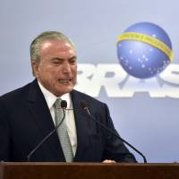 Brazil's Temer steadfastly refuses to step down in face of corruption probe