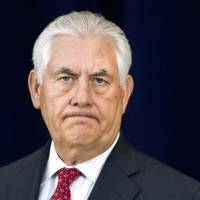 Foreign policy no longer tied to U.S. values, Tillerson tells State Department facing downsizing