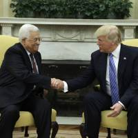 Without specifics, Trump assures Abbas on Middle East peace: 'We will get it done'