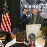 Trump Jr. stumps for rich Montana Republican, also with Russia links, for U.S. House seat