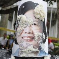 More trouble ahead for Taiwan's Tsai after rocky year