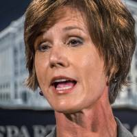 Yates to testify next week about warning Trump White House about Flynn: AP source