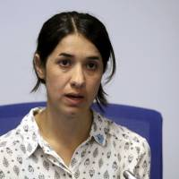 Yazidi activist weary, 'never' happy after years of campaigning against Islamic State horrors