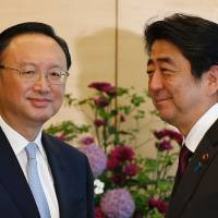Abe hammers home view that Chinese cooperation needed to tackle North Korea nuclear issue