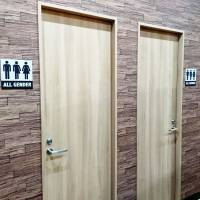 Don Quijote says new individual restroom stalls are for everyone regardless of gender, orientation