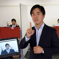 Entrepreneur taps Skype, tablets to offer sign language service across Japan