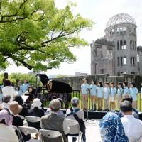 Concert at A-bomb dome celebrates Obama's 2016 visit to Hiroshima