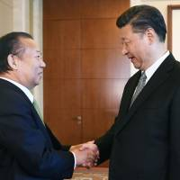 Xi tells LDP's Nikai he wants to move bilateral relations in 'right direction'