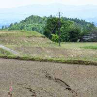 Ground cracks form in Oita city, prompting evacuations amid landslide fears