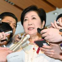 Koike agrees to foot bill for temporary Olympic facilities but neighbors irked by delays, loose ends