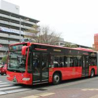 The Gifu Municipal Government will add more two-car buses to its popular bus system so fewer drivers can transport more passengers. | KYODO