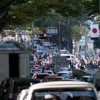 The government is studying how to curb traffic congestion in the capital during the 2020 Tokyo Olympics and Paralympics. | ISTOCK