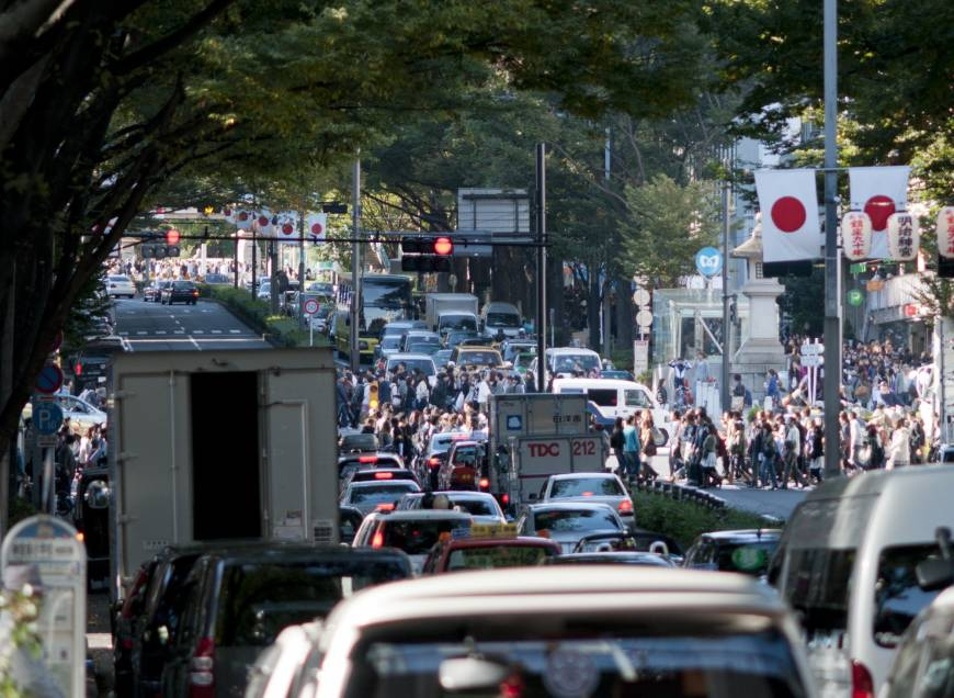 Tokyo weighs staggered shifts, teleworking in bid to curb traffic congestion in 2020 Olympics