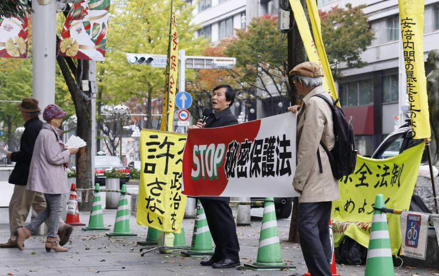 U.N. rights expert airs concern about Japan's freedom of expression