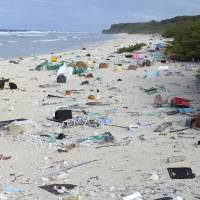 When researchers traveled to tiny, uninhabited Henderson Island in the middle of the Pacific Ocean in 2015, they were astonished to find an estimated 38 million pieces of mostly plastic trash washed up on the beaches. | AP