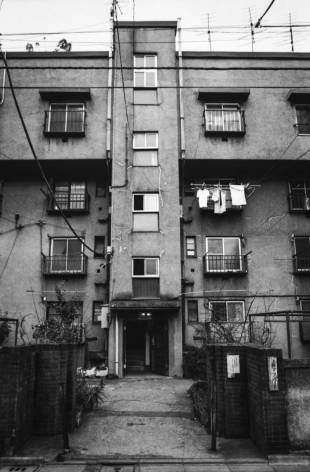 A few months prior to demolition in 2013, all but a few of the Uenoshita apartments