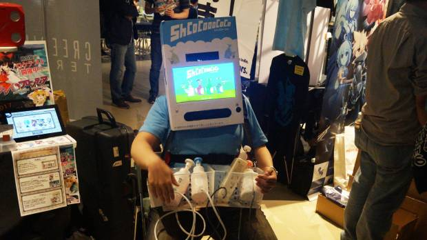Unusual controllers preside at BitSummit