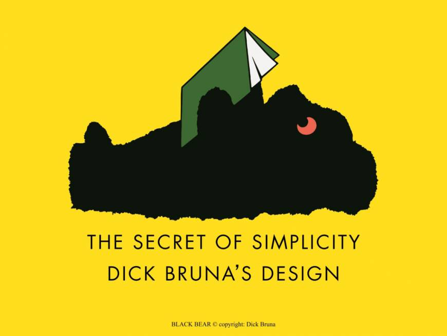 The main visual for the exhibition 'Black Bear' | © DICK BRUNA