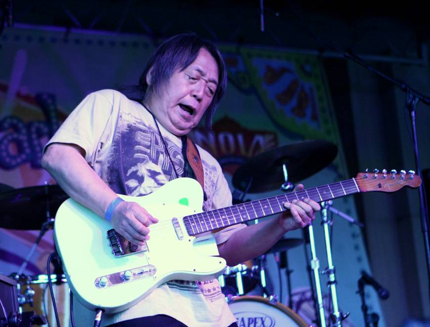 June Yamagishi: Hitting New Orleans with a suitcase and a guitar