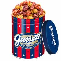 Garrett Popcorn's Stripes & Stars: Sweet patriotism in a tin