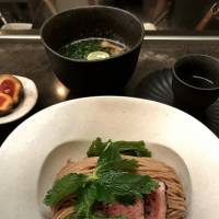 Wholesome and homemade: Both the ramen and the tsukemen (dipping noodles) at Mensho are made from freshly stoneground wholewheat flour. | ROBBIE SWINNERTON