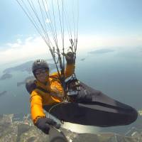 Paraglider Richard Brezina: 'I am not a stranger to high adventure'