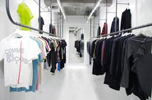 Fake Tokyo is currently displaying a retrospective, and purchasable, collection of vintage Comme des Garcons garments.