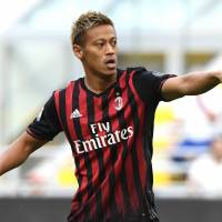 Keisuke Honda plans to leave AC Milan at the end of the season. | KYODO
