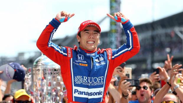 Takuma Sato becomes first Japanese to win Indianapolis 500