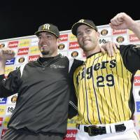 Hanshin's Campbell working to get up to speed
