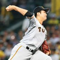 Giants hurler Sugano avenges lone loss of season against Tigers