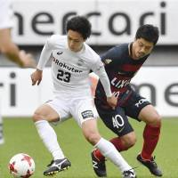 Urawa goes top in J. League as Antlers stumble against Kobe