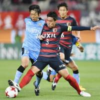 Frontale cruise past spluttering Antlers