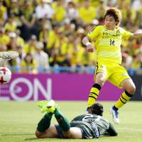 Kashiwa moves atop J. League after seventh straight victory
