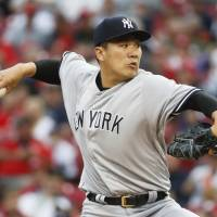 Tanaka energizes fatigued Yankees, wins fifth straight start